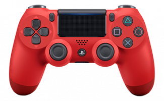 Фотография Геймпад Playstation 4 Красная лава (Red) V2 [=city]